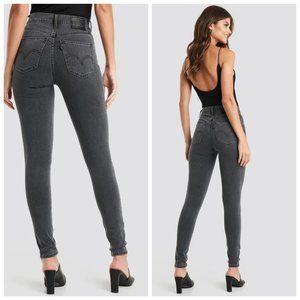 LEVI'S Grey Mile High Skinny Jeans